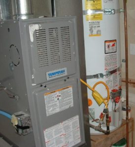 furnace and hot water heater